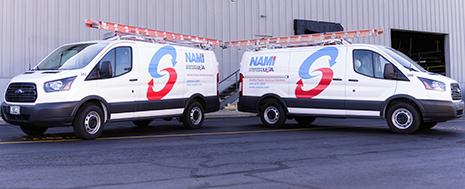 SERVICE- Vans