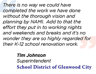 Tim Johnson Glenwood City Quote
